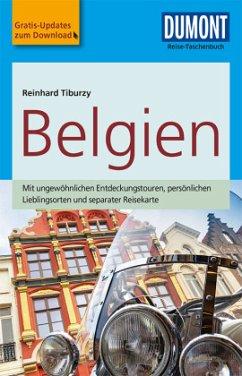 DuMont Reise-Taschenbuch Reiseführer Belgien - Tiburzy, Reinhard