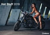2019 Hot Stuff Wall Calendar