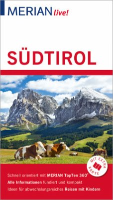 MERIAN live! Reiseführer Südtirol - Rübesamen, Annette