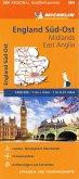 Michelin Karte England Süd-Ost, Midlands, East Anglia