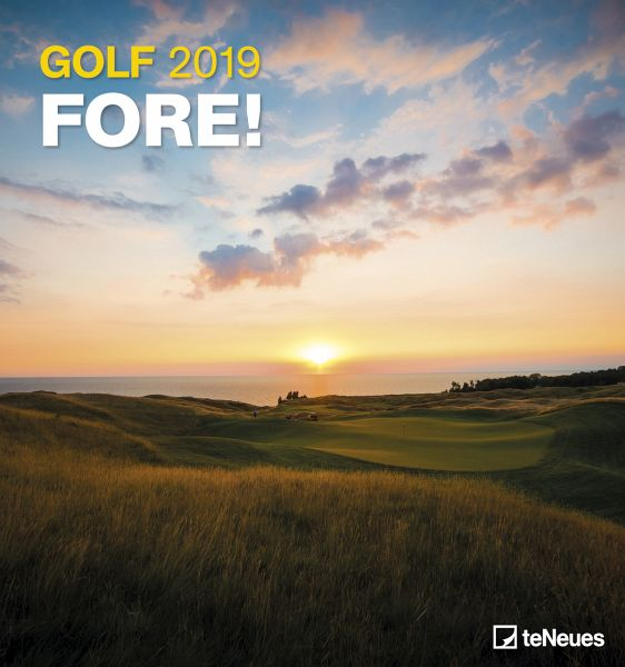 golf 2019 wandkalender kalender portofrei bestellen. Black Bedroom Furniture Sets. Home Design Ideas