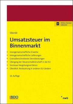 Umsatzsteuer im Binnenmarkt - Sikorski, Ralf