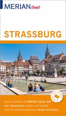 MERIAN live! Reiseführer Straßburg - Knopf, Volker; Nückles, Bärbel