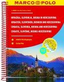 MARCO POLO Reiseatlas Kroatien, Slowenien, Bosnien und Herzegowina 1:300.000