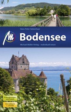 Bodensee Reiseführer Michael Müller Verlag - Siebenhaar, Hans-Peter