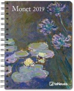 Monet 2019 Buchkalender Deluxe - Monet, Claude