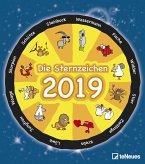 Die Sternzeichen 2019 Wandkalender