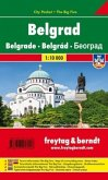 Freytag & Berndt Belgrad, Stadtplan 1:10.000, City Pocket + The Big Five; Belgrade