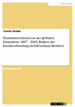 Finanzinnovationen in der globalen Finanzkrise ...