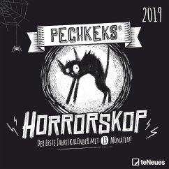 Pechkeks Horrorskop 2019 Broschürenkalender