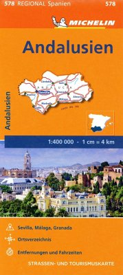 Michelin Karte Andalusien