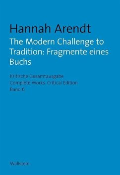 The Modern Challenge to Tradition: Fragmente ei...