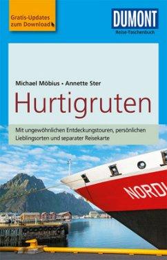 DuMont Reise-Taschenbuch Reiseführer Hurtigruten - Möbius, Michael; Ster, Annette