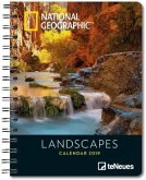 National Geographic Landscapes 2019 Buchkalender