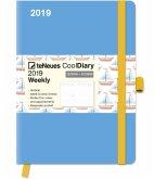 Cool Diary Lightblue/Boat 2019 groß