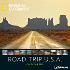 2019 Nat Geo Road Trip USA 30x30 Grid Ca