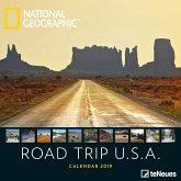 National Geographic Road Trip USA 2019 Broschürenkalender