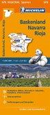 Michelin Karte Baskenland, Navarra, Rioja