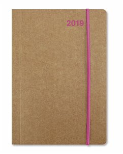 Mini Flexi Diary ColourLine PINK 2019
