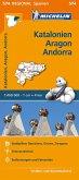 Michelin Karte Katalonien, Aragon, Andorra