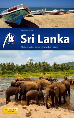 Sri Lanka Reiseführer Michael Müller Verlag - Haller, Andreas