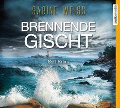 Brennende Gischt, 6 Audio-CDs - Weiß, Sabine