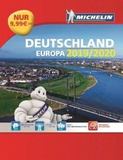 Michelin Straßenatlas Deutschland & Europa 2019...