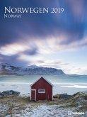 Norwegen 2019 Posterkalender