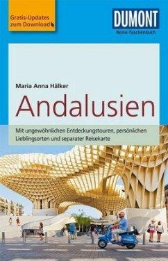 DuMont Reise-Taschenbuch Reiseführer Andalusien - Hälker, Maria Anna