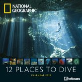 National Geographic 12 Places to dive 2019 Broschürenkalender