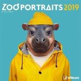 2019 Zoo Portraits Grid Calendar