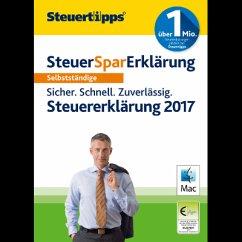 SteuerSparErklärung Selbstständige 2018 (für Steuerjahr 2017) (Download für Mac)