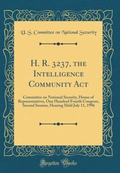 H. R. 3237, the Intelligence Community Act