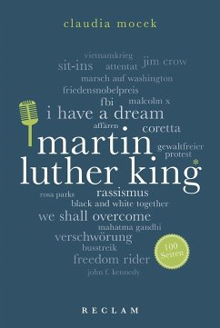 Martin Luther King. 100 Seiten - Mocek, Claudia