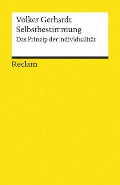 Selbstbestimmung - Gerhardt, Volker