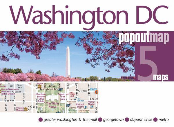 Popout Map Washington DC Double