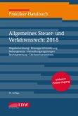 Praktiker-Handbuch Allgemeines Steuer- und Verfahrensrecht 2018