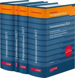 Steuer-Paket 2017: Ertragsteuern und Umsatzsteuer, 4 Bde.