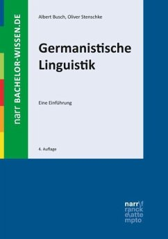 Germanistische Linguistik - Busch, Albert; Stenschke, Oliver