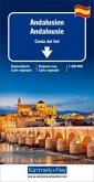 Kümmerly+Frey Karte Andalusien / Andalousie / Costa del Sol Regionalkarte