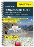 FolyMaps Touring Atlas Französische Alpen 1 : 250.000