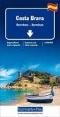 Kümmerly+Frey Regionalkarte Costa Brava / Barcelona