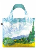 LOQI Bag VINCENT VAN GOGH / A Wheat Field with Cypresses