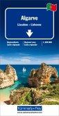 Kümmerly+Frey Karte Algarve / Lissabon Regionalkarte