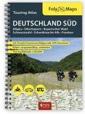 FolyMaps Touring Atlas Deutschland Süd 1:250.000