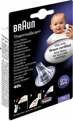 BRAUN ThermoScan Schutzkappen 40 Stück