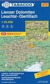 Wanderkarte Lienzer Dolomiten - Lesachtal-Obertillach-Lienz