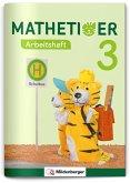 Mathetiger 3 - Arbeitsheft - Neubearbeitung