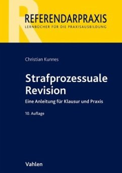 Strafprozessuale Revision - Kunnes, Christian