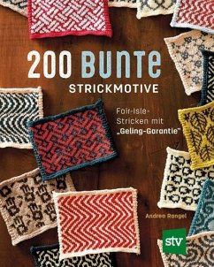 200 bunte Strickmotive - Rangel, Andrea